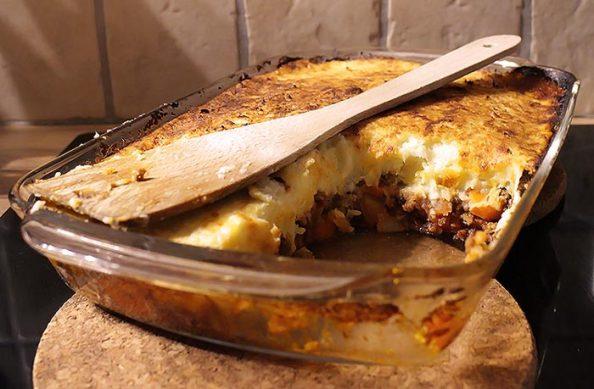 Low Carb Rezept | Shepards Pie (Blumenkohl-Sellerie-Püree)