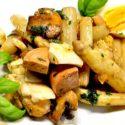 Low Carb Rezept | Spargel-Champignon-Eier-Salat
