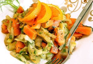 Low Carb Salat Rezept | Fenchel-Papaya-Salat