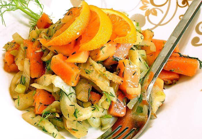 Low Carb Salat Rezept   Fenchel-Papaya-Salat