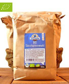 Bio Süßlupinenmehl (glutenfrei), Erdschwalbe, 1000g