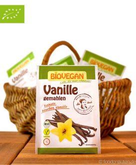 Bio Vanille, gemahlen (Bourbon Vanille), Biovegan, 5g