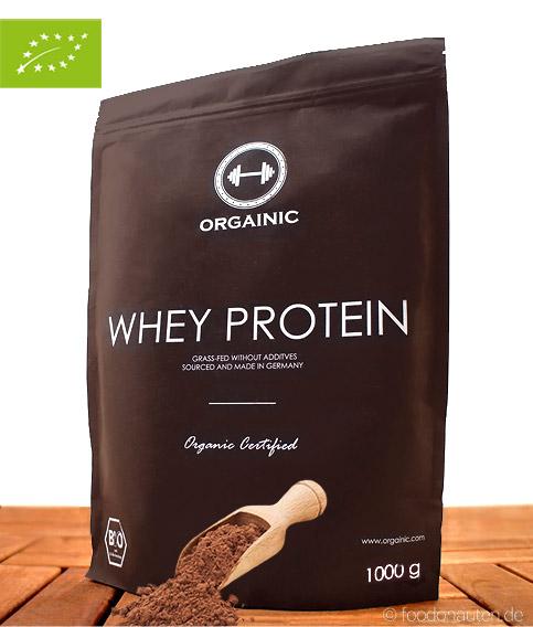 Bio Eiweißpulver Kakao (ohne Zusatzstoffe), 1000g, Orgainic