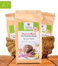 Martha Powerfood - Bio-Power-Brot (Backmischung), Low Carb, Glutenfrei, Vegan, Sojafrei, 300g