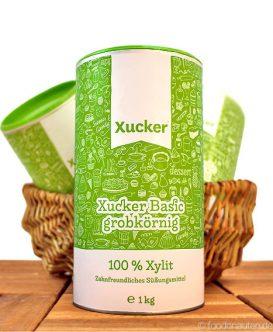 Xucker (basic), Grobkörniges Xylit (Xylitol), 1000g, Xucker