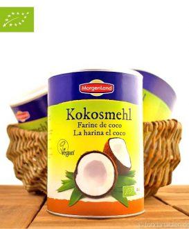 Bio Kokosmehl (Ballaststoffreich & Glutenfrei), Sri Lanka, 500g, Morgenland