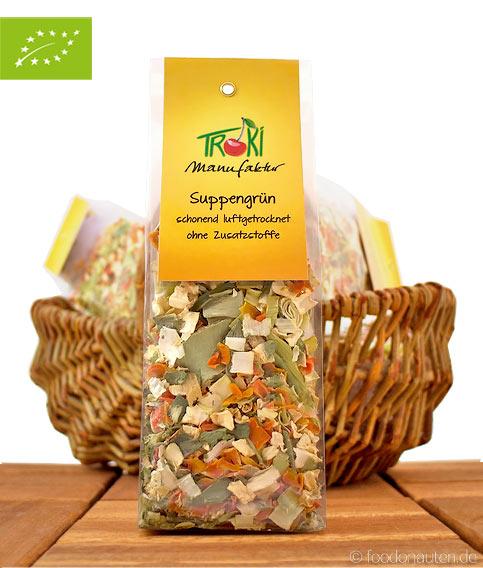 Bio Suppengrün (Schonend luftgetrocknet), Troki Manufaktur, 50g