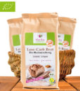Low Carb Brot hell, Bio Brot-Backmischung, Glutenfrei & Vegan, Martha Powerfood, 300g