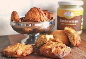 Low Carb Cashew-Kokos-Cookies (schnell zubereitet)