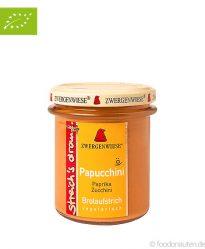 Bio Brotaufstrich Papucchini (Paprika & Zucchini), 160g, Zwergenwiese