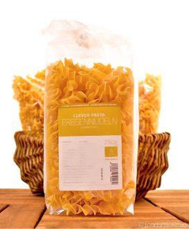 Clever Pasta, Erbsennudeln (aus gelben Erbsen), Glutenfrei, Slow Carb, 250g