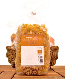 Clever Pasta, Kichererbsen-Nudeln (Pasta), Glutenfrei, Eiweißreich & Vegan, 250g