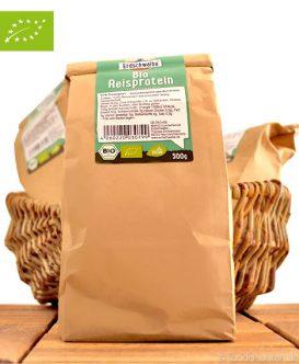 Bio Reisprotein (Veganes Proteinpulver), Erdschwalbe, 500g