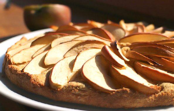 Low Carb Apfelkuchen, Glutenfrei