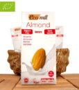 Bio Mandelmilch (Milchersatz), Laktosefrei, ohne Zucker, 1L, EcoMil