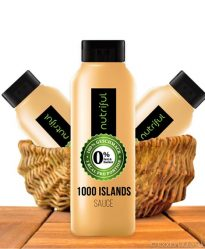 Nutriful 1000 Islands Sauce (0%-Sauce), Low Carb, 265ml
