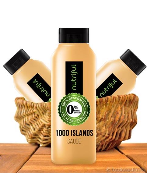 Nutriful 1000 Islands Sauce (0%-Sauce), Low Carb, 265ml