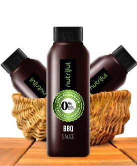 Nutriful BBQ Sauce (0%-Sauce), Low Carb, 265ml