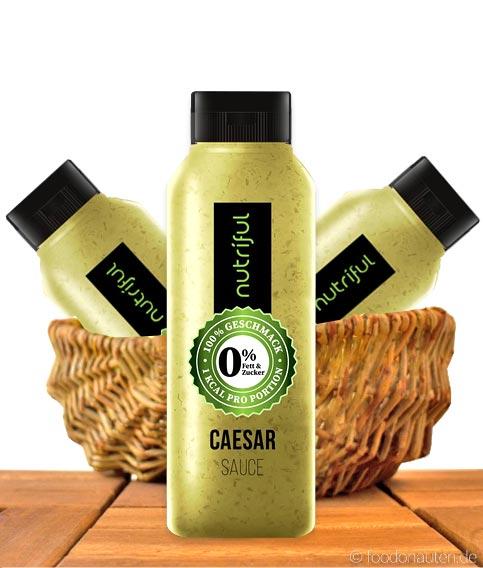 Nutriful Caesar Sauce (0%-Sauce), Low Carb, 265ml