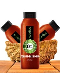 Nutriful Tomate-Basilikum Sauce (0%-Sauce), Low Carb, 265ml