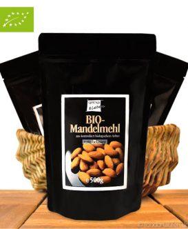Gemahlene Bio Mandeln (Naturbelassen), kba, 500g, Natur und Leben