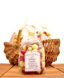 Zuckerfreie Bonbons Erdbeer-Vanille, Kramer's Spezialitäten, 120g
