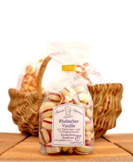 Zuckerfreie Bonbons Rhabarber-Vanille, Kramer's Spezialitäten, 120g