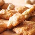 Low Carb Erdnusskekse mit ganzen Erdnüssen