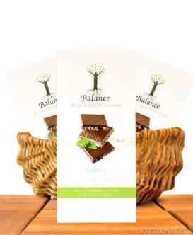 Balance Stevia Schokolade (Kokosnuss Crisp), mit Stevia gesüßt, 85g