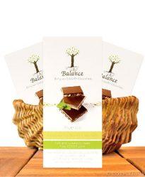 Balance Stevia Schokolade (Pistazie Mandel Walnuss), mit Stevia gesüßt, 85g