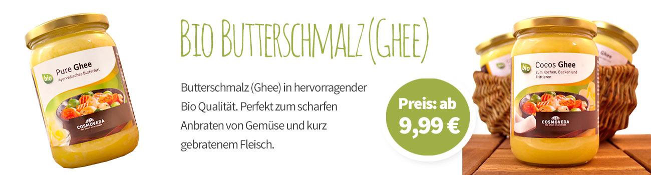 Bio Butterschmalz - Banner