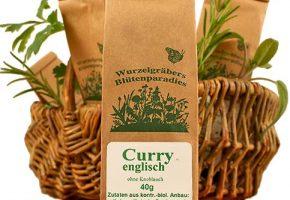 Bio Gewürzmischung, Curry Englisch, Wurdies