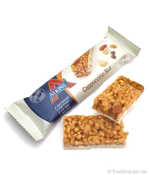 Day Break Bar Cappuccino Nut, Low Carb Müsliriegel, 30g, Atkins