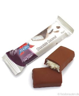 Endulge Bar Chocolate Coconut, Low Carb Schokoriegel, 35g, Atkins