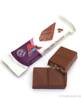 Endulge Bar Crispy Milk Chocolate, Low Carb Schokoriegel, 30g, Atkins