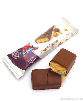 Endulge Bar Peanut Caramel, Low Carb Schokoriegel, 35g, Atkins