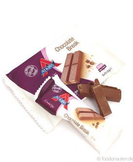 Endulge Bars Chocolate Break, Low Carb Schokoriegel, 3 x 21,5g, Atkins