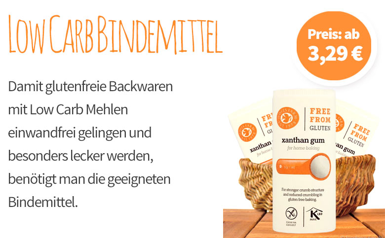 Low Carb Bindemittel - Banner Mobile
