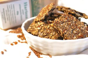 Low Carb Lein- & Chiasamen Cracker