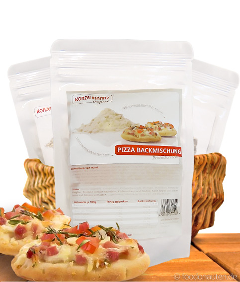 Low Carb Pizza Backmischung, 170g, Konzelmann's Original