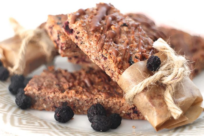 Low Carb Protein-Aronia-Riegel