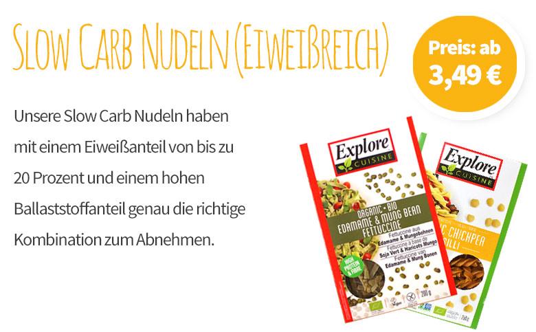 Slow Carb Nudeln (Eiweißreich)