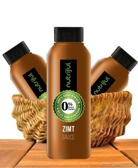 Zimt Sauce, 0% Sauce ohne Zucker, 265ml, Nutriful