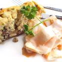 Low Carb Pilz-Terrine mit Champignons und Kräuterseitlingen