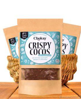Chokay - Crispy Cocos Milchschokolade, Ohne Zuckerzusatz, 85g
