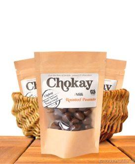 Chokay - Schoko Erdnüsse, Ohne Zuckerzusatz, Mit Stevia, 40g