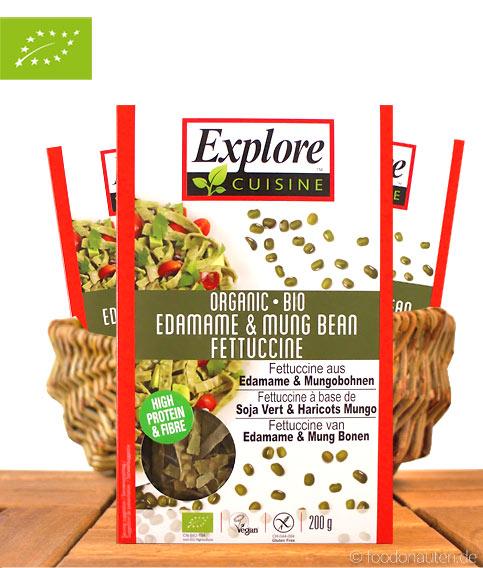 Explore Cuisine - Bio Edamame & Mungo-Bohnen Spaghetti, 200g