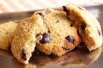 Fluffige Low Carb Kekse mit Schokodrops