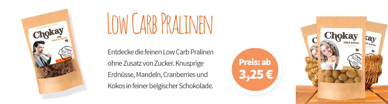 Low Carb Pralinen Banner