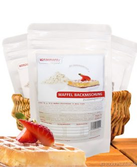 Low Carb Waffel Backmischung, 150g, Konzelmann's Original